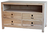 image of Paulownia 42 Inch TV Stand
