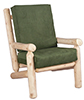 image of Cedar Living Room Chair w/Cushion