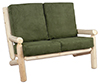image of Cedar Living Room Loveseat w/Cushions