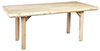 image of Cedar Indoor Solid-Top Dining Table