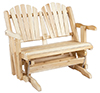 image of Cedar Loveseat Glider