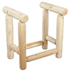 image of Cedar 2-Foot Firewood Rack