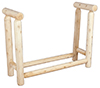 image of Cedar 4-Foot Firewood Rack