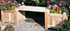 image of Cedar Planter Bench
