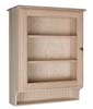 image of Display Cabinet with Door & Shelf available in Maple, Oak & Cherry