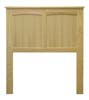 image of Flat Panel Arch Headboard, available in Maple & Oak
