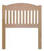 image of Arched Slat Headboard, available in Maple & Oak
