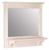 image of Mirror with Shelf, available in Maple, Oak & Cherry