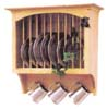 image of Plate Rack with Pegs available in Maple, Oak & Cherry
