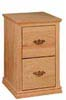 image of Filing Cabinet, available in Maple & Oak