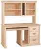 image of Computer Hutch, available in Maple & Oak