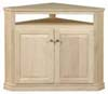 image of Corner TV Cabinet, available in Maple & Oak