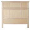 image of Headboard, available in Maple & Oak