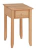image of Chair Side Table available in Maple, Oak & Cherry