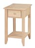 image of Shaker Chair Side Table available in Maple, Oak & Cherry