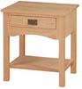 image of End Table, available in Maple & Oak