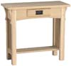 image of Hall Table, available in Maple & Oak