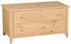image of Blanket Chest, available in Maple, Oak & Cherry
