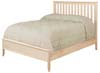 image of Bed, available in Maple, Oak & Cherry