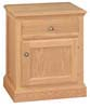 image of Nightstand, available in Maple, Oak & Cherry