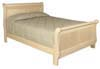 image of Sleigh Bed, available in Maple, Oak & Cherry