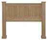 image of Headboard, available in Maple, Oak & Cherry