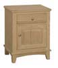 image of Nightstand, available in Maple & Oak