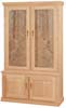 image of Gun Cabinet, available in Maple & Oak