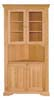 image of Corner China Cupboard, available in Maple & Oak