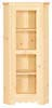 image of Corner Cupboard, available in Maple & Oak
