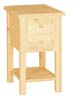 image of Country Chair Side End Table available in Maple & Oak