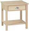 image of End Table, available in Maple, Oak & Cherry