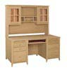 image of Desk Hutch, available in Maple, Oak & Cherry