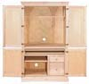 image of Computer Armoire, available in Maple, Oak & Cherry