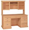 image of Computer Hutch, available in Maple, Oak & Cherry