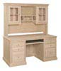 image of Desk Hutch, available in Maple & Oak