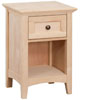image of Alder McKenzie 1 Drawer Nightstand