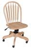 image of Parawood Windsor Arrowback Desk Chair