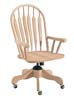 image of Parawood Steambent Windsor Desk Chair