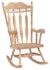 image of Parawood Carved Back Rocker