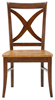 image of Parawood Salerno Chair, Aged Cherry/Espresso