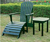 image of Green Adirondack Chair