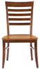 image of Parawood Roma Chair, Aged Cherry/Espresso