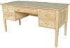 image of Parawood Executive Lancaster Shaker Desk