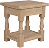 image of Parawood Tuscan End Table