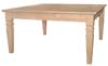 image of Parawood Java Square Coffee Table