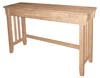 image of Parawood Mission Sofa Table