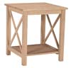 image of Parawood Hampton End Table