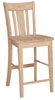 image of Parawood 24 Inch San Remo Stool