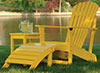 image of Yellow Footrest